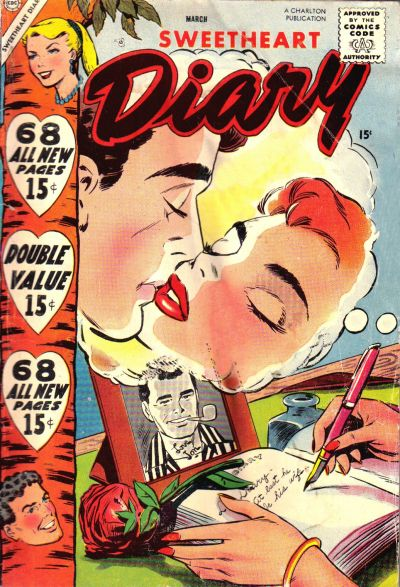 Cover for Sweetheart Diary (Charlton, 1955 series) #41