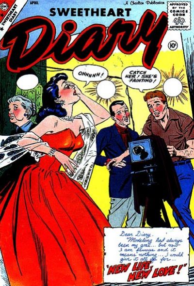 Cover for Sweetheart Diary (Charlton, 1955 series) #46