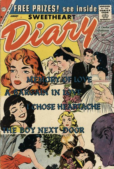 Cover for Sweetheart Diary (Charlton, 1955 series) #50
