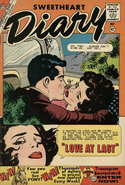 Cover for Sweetheart Diary (Charlton, 1955 series) #52