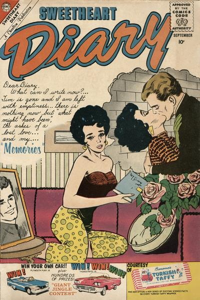 Cover for Sweetheart Diary (Charlton, 1955 series) #54