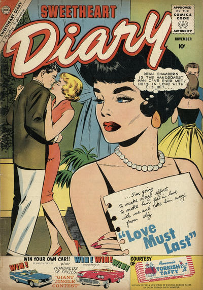 Cover for Sweetheart Diary (Charlton, 1955 series) #55