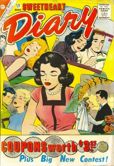 Cover for Sweetheart Diary (Charlton, 1955 series) #57