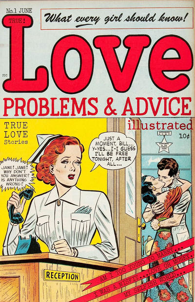 Cover for Love Problems and Advice, Illustrated (McCombs, 1949 series) #1