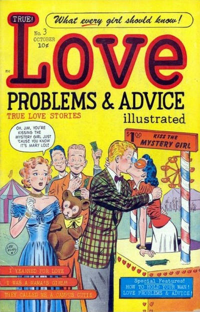 Cover for True Love Problems and Advice Illustrated (Harvey, 1949 series) #3