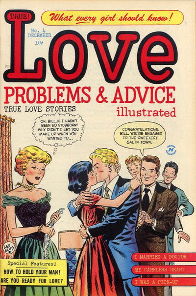 Cover for True Love Problems and Advice Illustrated (Harvey, 1949 series) #4