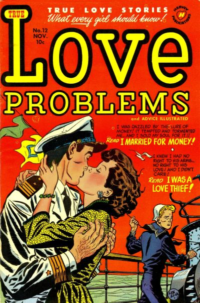 Cover for True Love Problems and Advice Illustrated (Harvey, 1949 series) #12