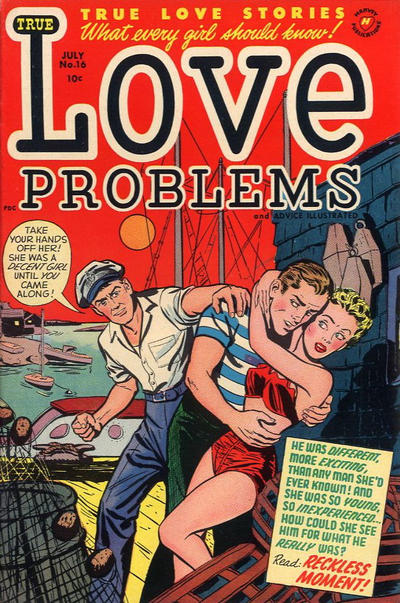 Cover for True Love Problems and Advice Illustrated (Harvey, 1949 series) #16