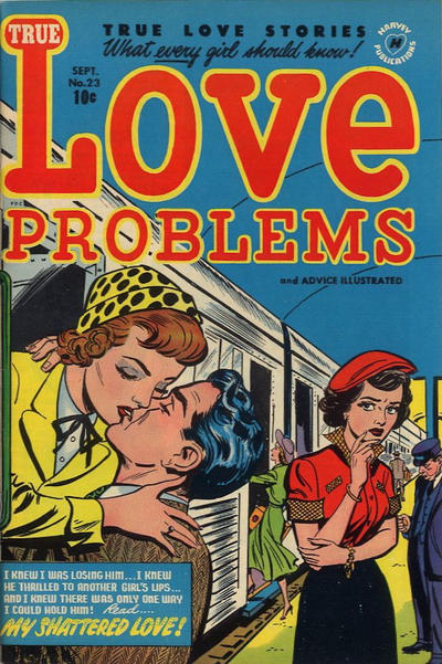Cover for True Love Problems and Advice Illustrated (Harvey, 1949 series) #23