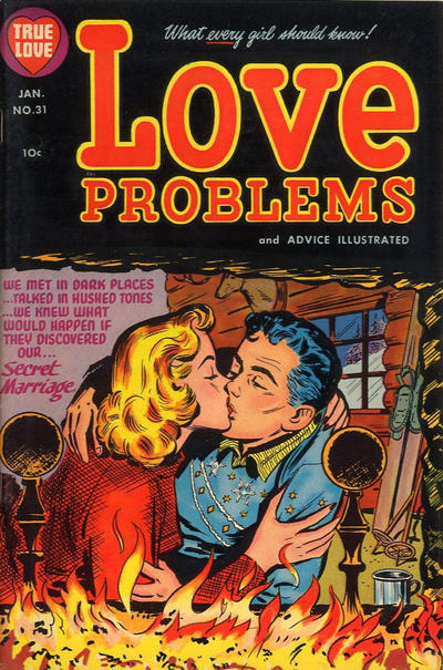 Cover for True Love Problems and Advice Illustrated (Harvey, 1949 series) #31