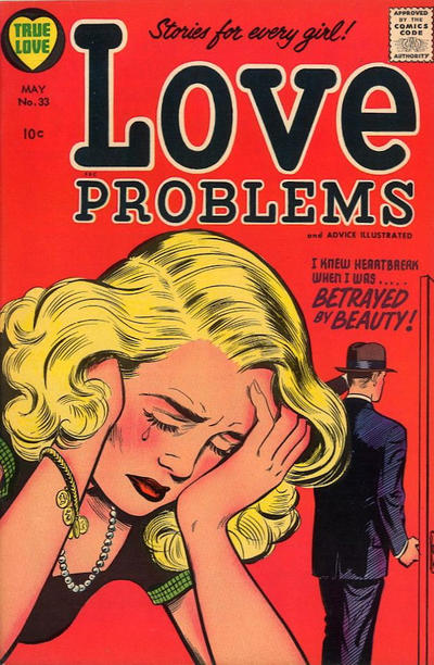 Cover for True Love Problems and Advice Illustrated (Harvey, 1949 series) #33