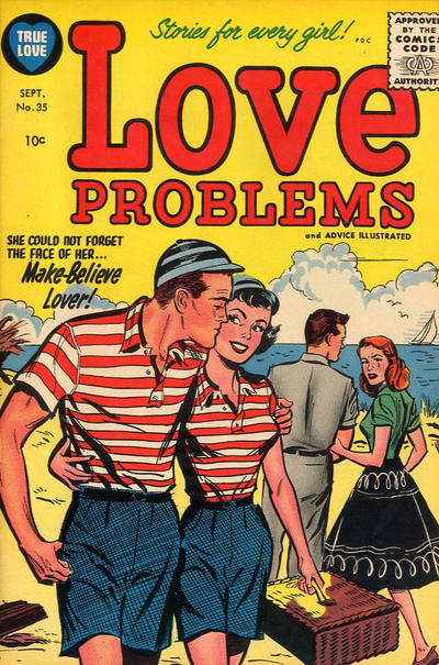 Cover for True Love Problems and Advice Illustrated (Harvey, 1949 series) #35