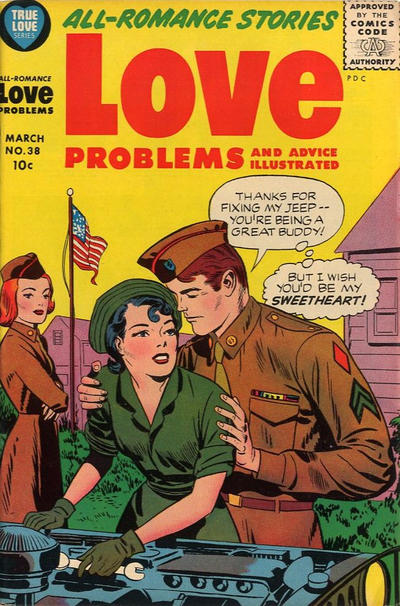 Cover for True Love Problems and Advice Illustrated (Harvey, 1949 series) #38