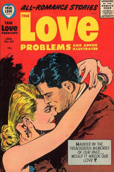 Cover for True Love Problems and Advice Illustrated (Harvey, 1949 series) #43