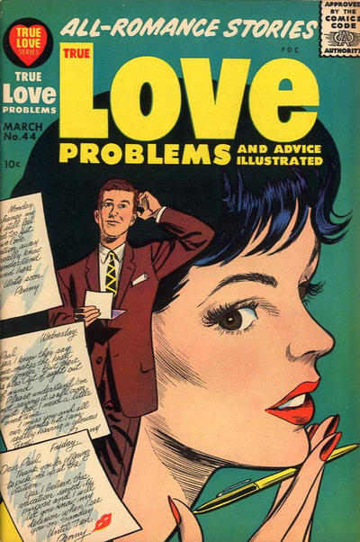 Cover for True Love Problems and Advice Illustrated (Harvey, 1949 series) #44