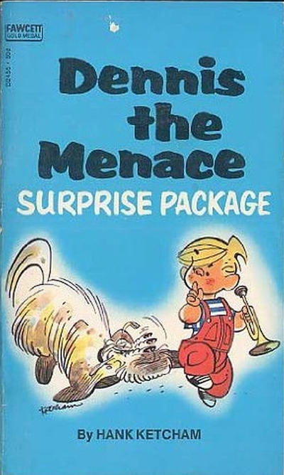 Cover for Dennis the Menace Surprise Package (Gold Medal Books, 1971 series) #D2455