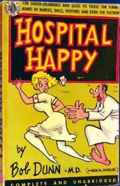 Cover for Hospital Happy (Avon Books, 1953 series) #411