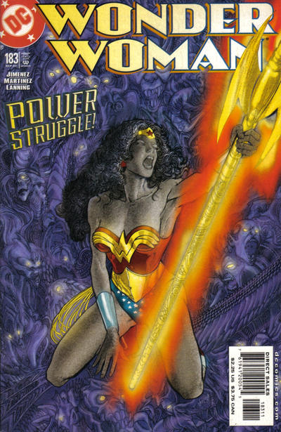 Cover for Wonder Woman (DC, 1987 series) #183