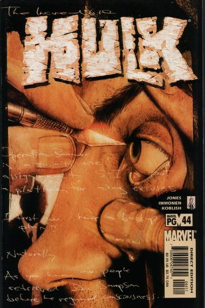 Cover for Incredible Hulk (Marvel, 2000 series) #44