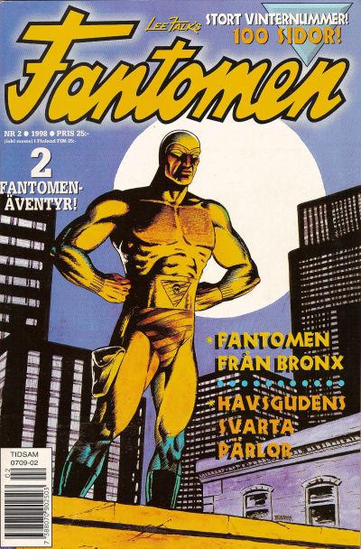 Cover for Fantomen (Egmont, 1997 series) #2/1998