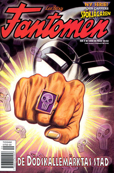 Cover for Fantomen (Egmont, 1997 series) #9/1998