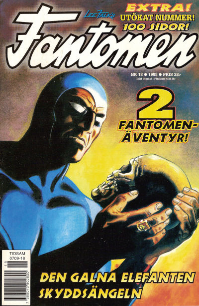Cover for Fantomen (Egmont, 1997 series) #18/1998