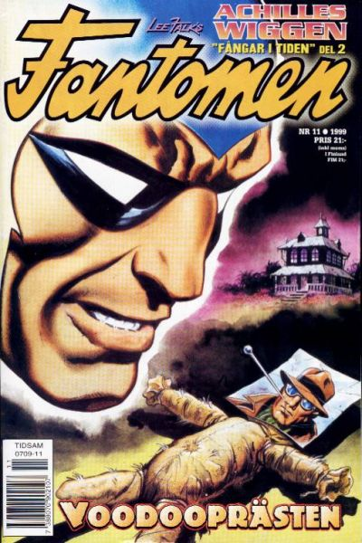 Cover for Fantomen (Egmont, 1997 series) #11/1999