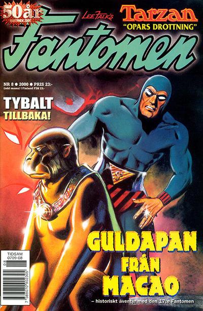 Cover for Fantomen (Egmont, 1997 series) #8/2000