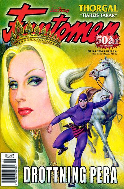 Cover for Fantomen (Egmont, 1997 series) #9/2000