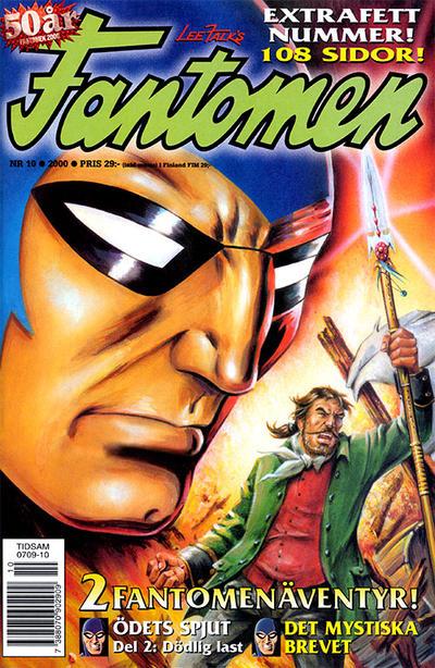 Cover for Fantomen (Egmont, 1997 series) #10/2000
