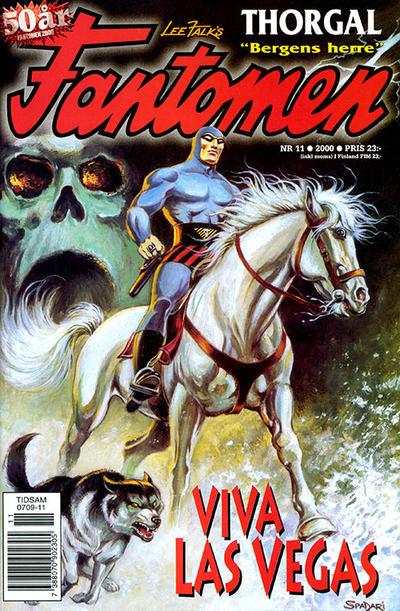 Cover for Fantomen (Egmont, 1997 series) #11/2000