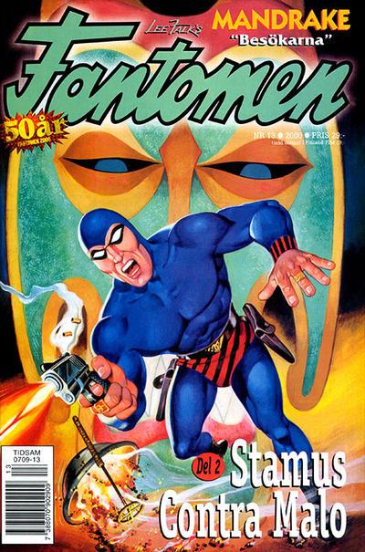 Cover for Fantomen (Egmont, 1997 series) #13/2000