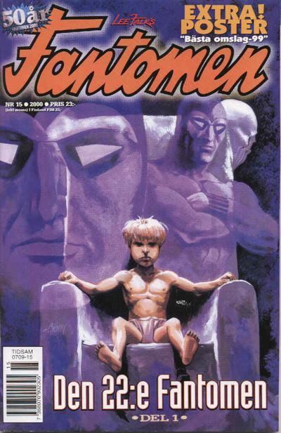 Cover for Fantomen (Egmont, 1997 series) #15/2000
