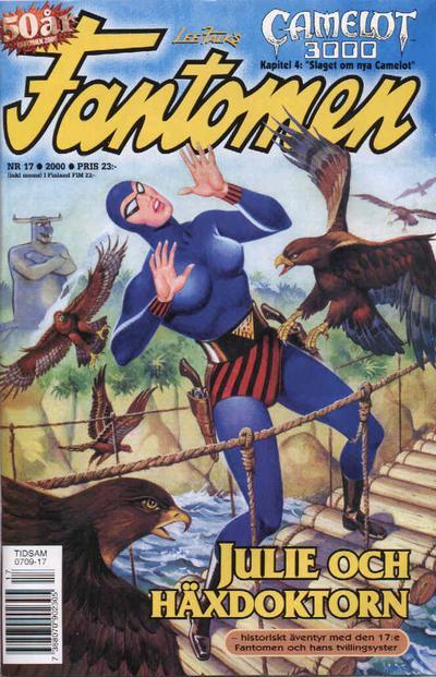 Cover for Fantomen (Egmont, 1997 series) #17/2000