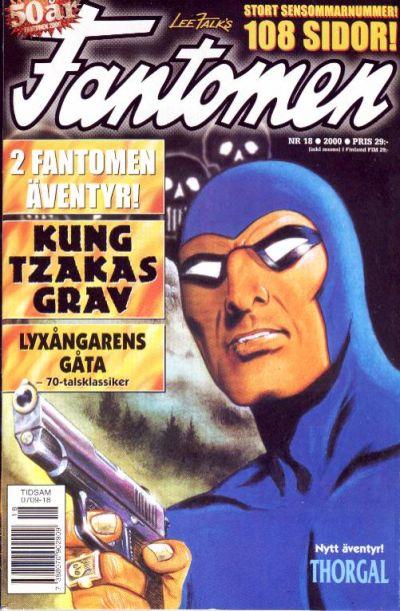 Cover for Fantomen (Egmont, 1997 series) #18/2000