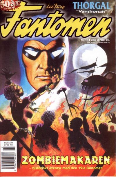 Cover for Fantomen (Egmont, 1997 series) #19/2000