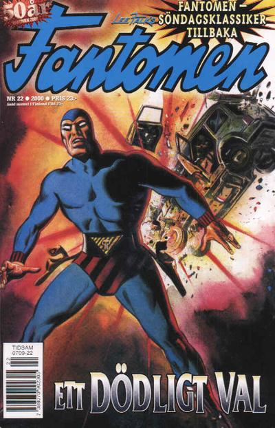 Cover for Fantomen (Egmont, 1997 series) #22/2000