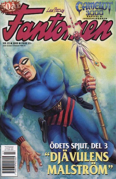 Cover for Fantomen (Egmont, 1997 series) #23/2000