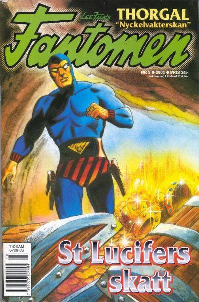 Cover for Fantomen (Egmont, 1997 series) #3/2001