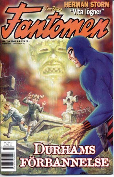 Cover for Fantomen (Egmont, 1997 series) #7/2001