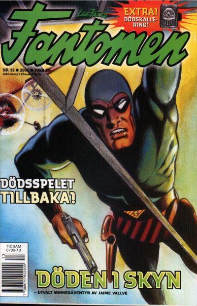 Cover for Fantomen (Egmont, 1997 series) #13/2001