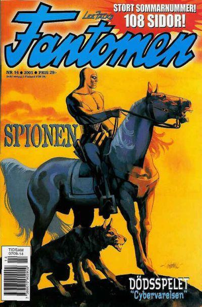 Cover for Fantomen (Egmont, 1997 series) #14/2001