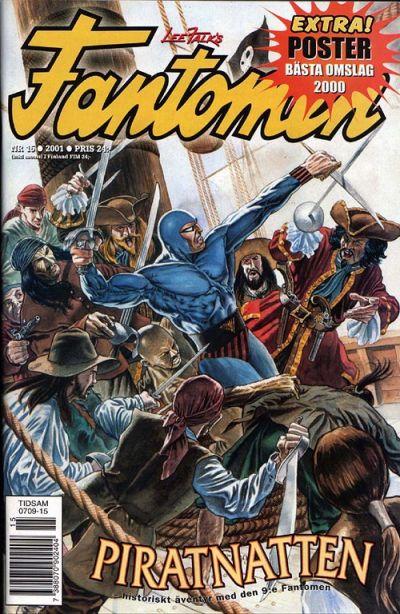 Cover for Fantomen (Egmont, 1997 series) #15/2001