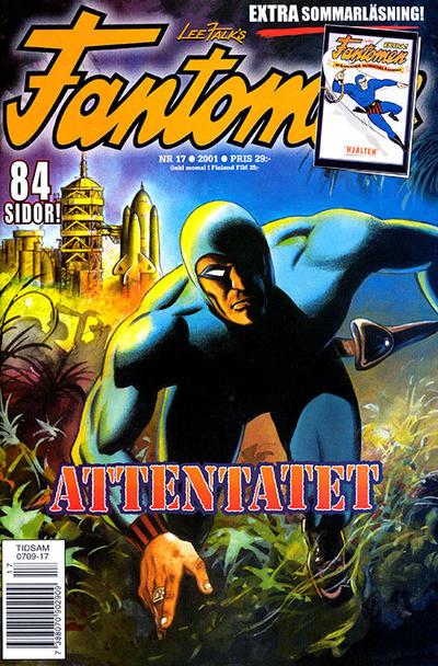 Cover for Fantomen (Egmont, 1997 series) #17/2001