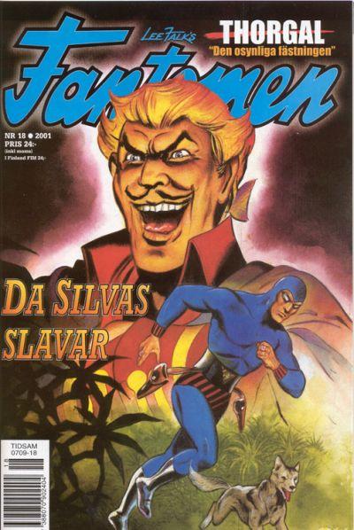 Cover for Fantomen (Egmont, 1997 series) #18/2001
