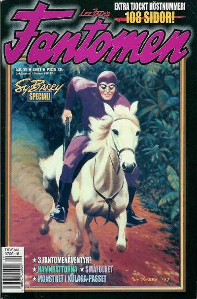 Cover for Fantomen (Egmont, 1997 series) #19/2001