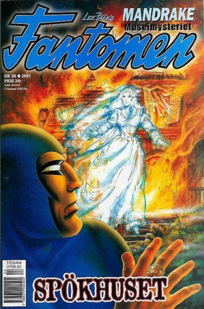 Cover for Fantomen (Egmont, 1997 series) #20/2001