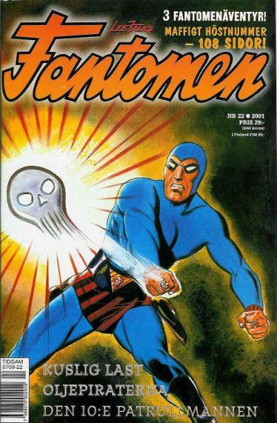 Cover for Fantomen (Egmont, 1997 series) #22/2001