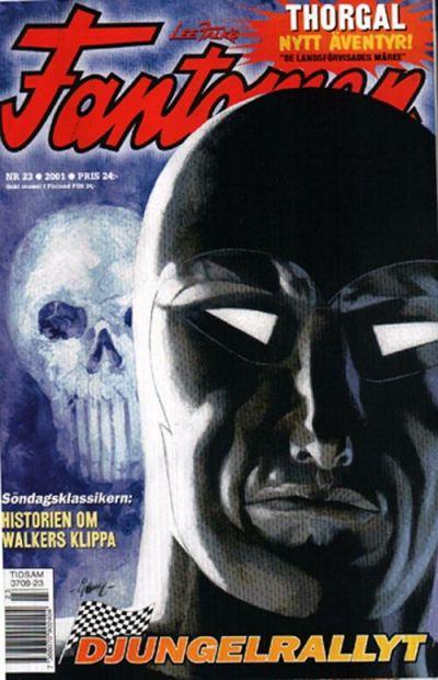Cover for Fantomen (Egmont, 1997 series) #23/2001