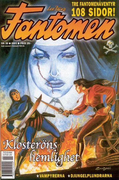 Cover for Fantomen (Egmont, 1997 series) #26/2001